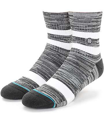Stance Mission Low Grey Crew Socks