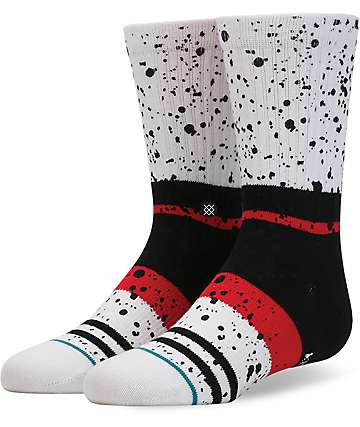 Stance Nero Boys White Crew Socks