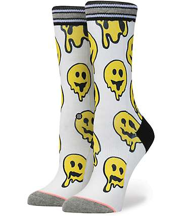 Stance Outbreak Smiley Trip Crew Socks