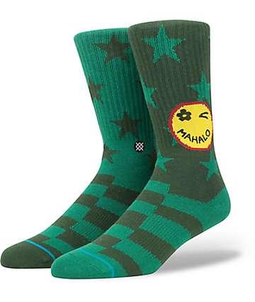 Stance Outlook Green Crew Socks