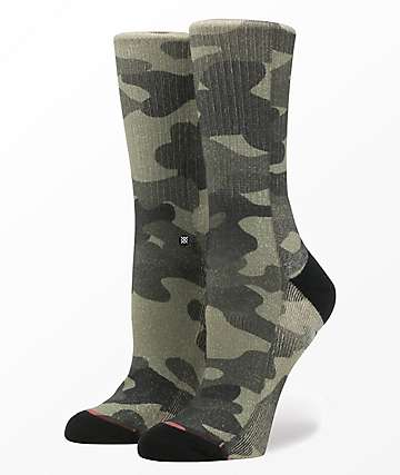 Stance Outta Sight Camo Classic Crew Socks