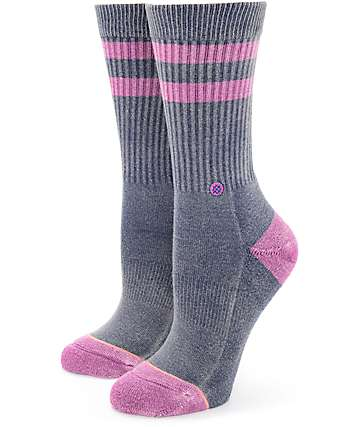 Stance Plain Jane Purple Crew Socks