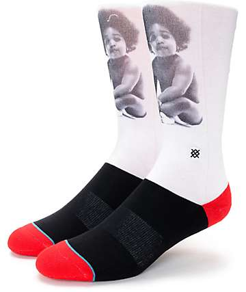 Stance Ready To Die Crew Socks