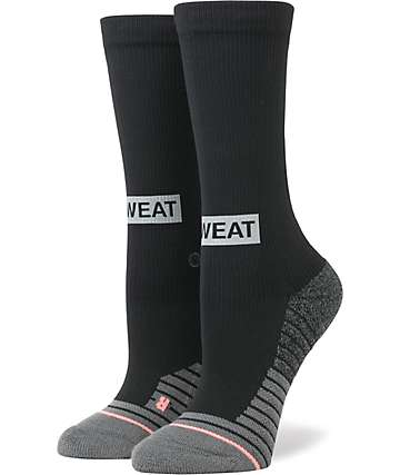 Stance Reflective Box Black Crew Socks