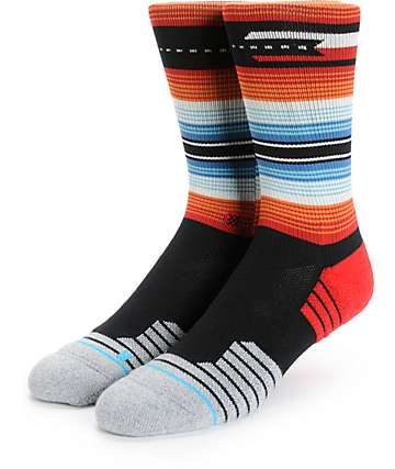 Stance Roots Fusion Athletic Crew Socks