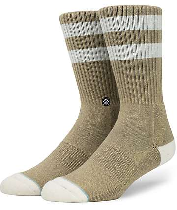 Stance Salty Brown Crew Socks