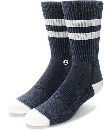 Stance Salty Navy Crew Socks