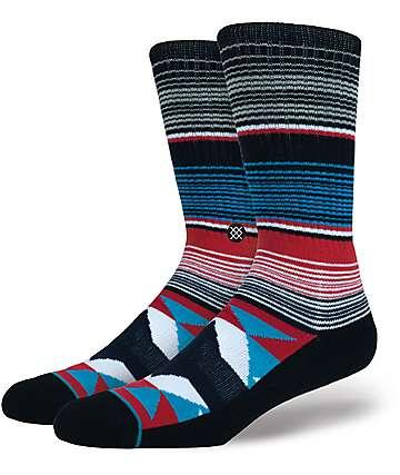 Stance San Blas Grey Crew Socks