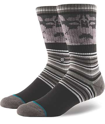 Stance Scenic Charcoal Crew Socks