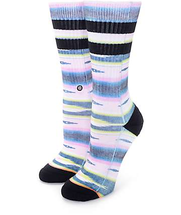 Stance Seniorita Black Crew Socks