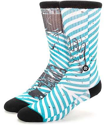 Stance Sidereel Blue Crew Socks
