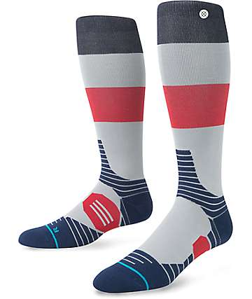 Stance Silver Glance Compression Snow Socks