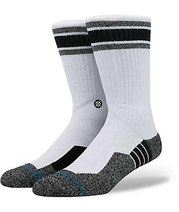 Stance Skate Fusion River Styx White & Black Crew Socks