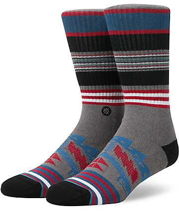 Stance Sparta Grey Crew Socks