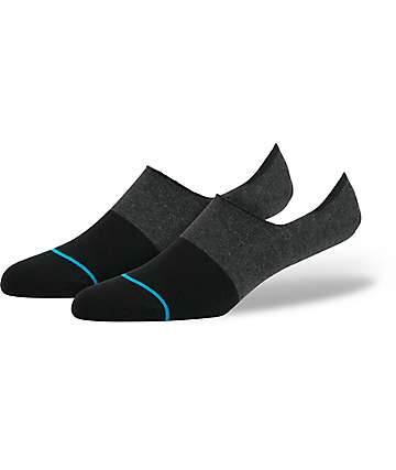 Stance Spectrum Super Black No Show Socks