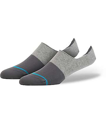 Stance Spectrum Super Grey No Show Socks