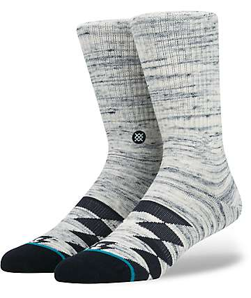 Stance Splitter Navy Crew Socks