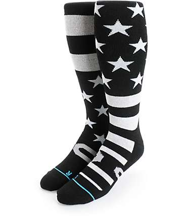 Stance Stars And Bars Merino Wool Snowboard Socks