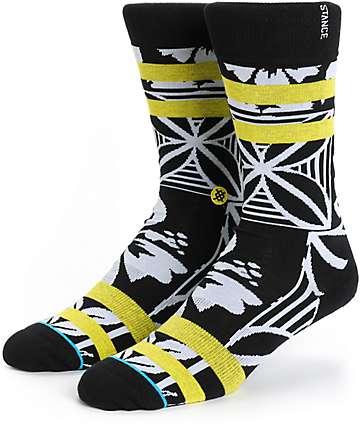 Stance Stitch Floral Crew Socks