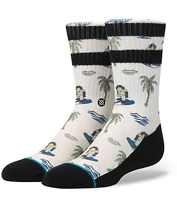 Stance Surfin Monkey Boys Crew Socks