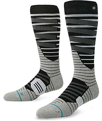 Stance Taghum Black & Grey Compression Snow Socks