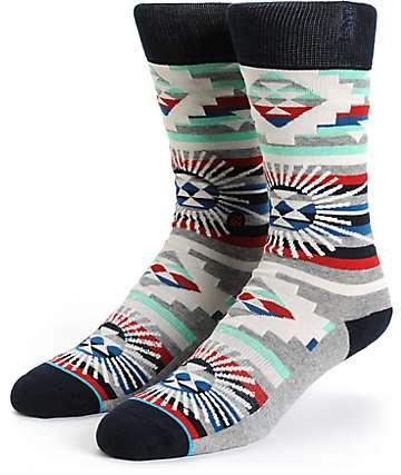 Stance Thunderhead Tribal Crew Socks