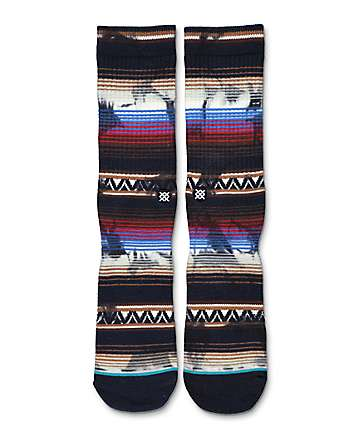 Stance Trailer Navy Crew Socks