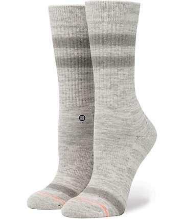 Stance Uncommon Grey Classic Crew Socks