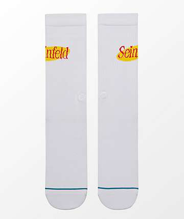 Stance Upper West Side White Crew Socks