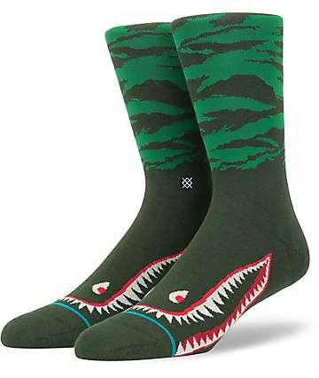 Stance Warhawk Green Crew Socks