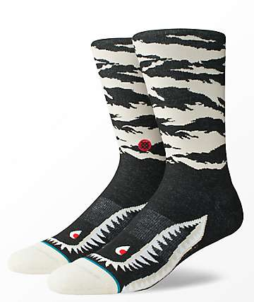 Stance Warhawk Natural Crew Socks