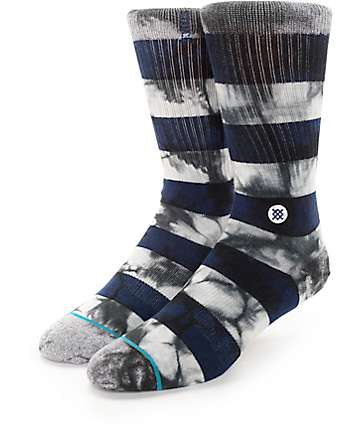 Stance Wells Navy Crew Socks