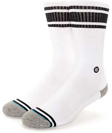 Stance White Out & Black Crew Socks