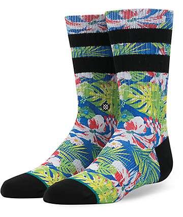 Stance Yada Boys Blue Crew Socks