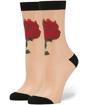 Stance x Disney The Rose Sheer Socks