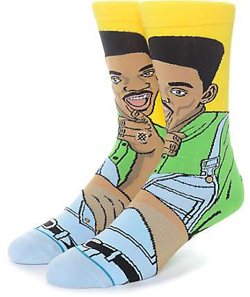 Stance x Fresh Prince Will Crew Socks