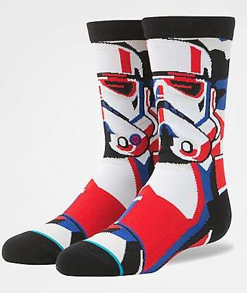 Stance x Star Wars Boys Trooper Mosaic Crew Socks