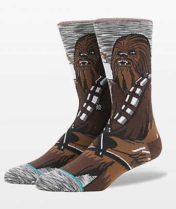 Stance x Star Wars Chewie Pal Crew Socks