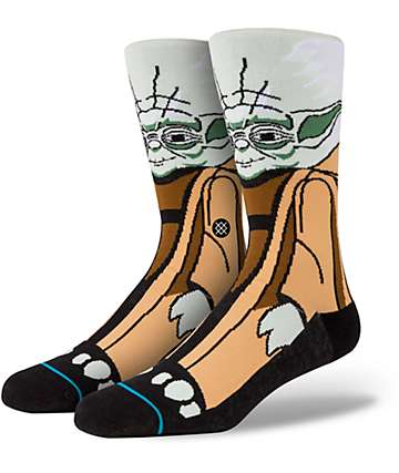 Stance x Star Wars Yoda Crew Socks