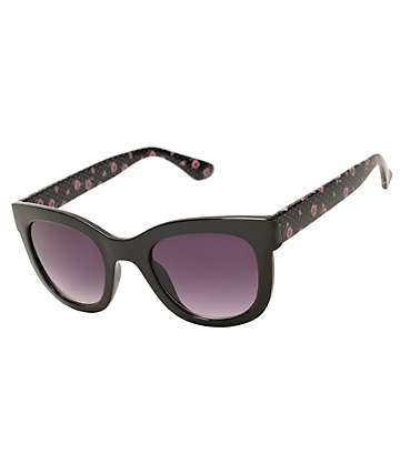 Stand Alone Ditsy Dot Cat Eye Sunglasses