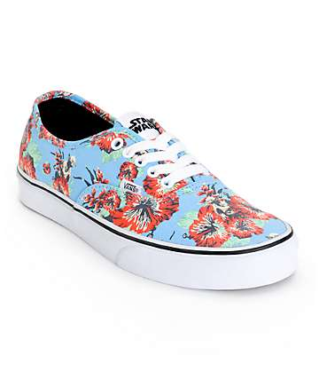 Star Wars x Vans Authentic Yoda Aloha Skate Shoes (Mens)