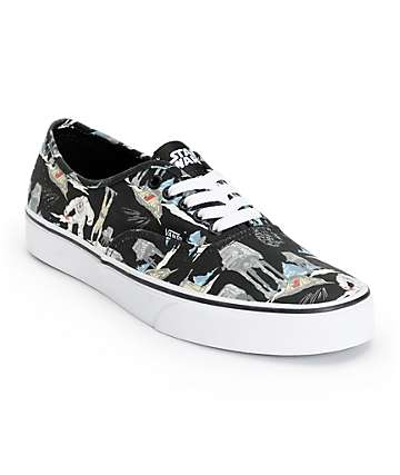 Star Wars x Vans Era Dark Side Planet Hoth Skate Shoes (Mens)