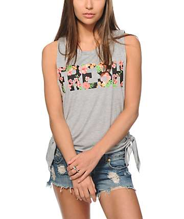 Starling Piper Palm Fresh Crop Muscle Tee