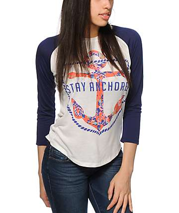 Starling Stay Anchored Baseball Tee