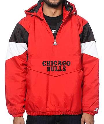 Starter Chicago Bulls Pullover Jacket
