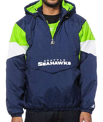 Starter Seattle Seahawks Pullover Jacket