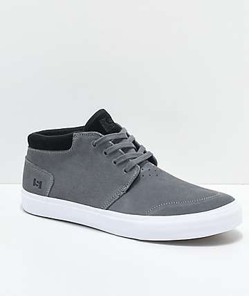 State Albany Pewter & Black Skate Shoes