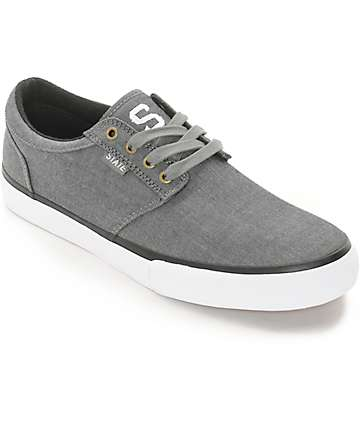 State Elgin Pewter Chambray Skate Shoes