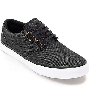 State Elgin zapatos de skate en denim negro