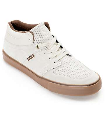 State Mercer zapatos de skate en crema y goma